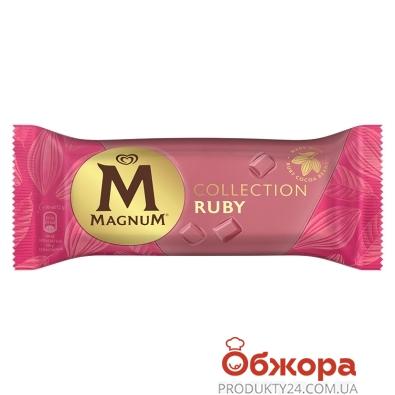 Морозиво Рубі ескімо Magnum 72 г – ІМ «Обжора»