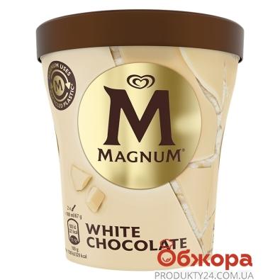 Морозиво Білий шоколад відро Magnum 297 г – ІМ «Обжора»