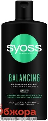 Шампунь Balancing SYOSS 500 мл – ІМ «Обжора»