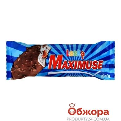 Морозиво ескімо Максімус з карамеллю Ласка 90 г – ІМ «Обжора»