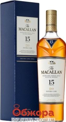 Віскі The Macallan 15 років 0,7 л – ІМ «Обжора»