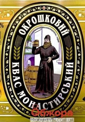 Квас Монастирський окрошковий 2 л – ІМ «Обжора»
