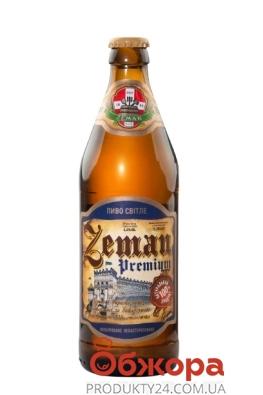 Пиво Преміум Zeman 0,5 л – ІМ «Обжора»