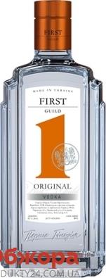 Горілка First Guild Original 0,5л – ІМ «Обжора»