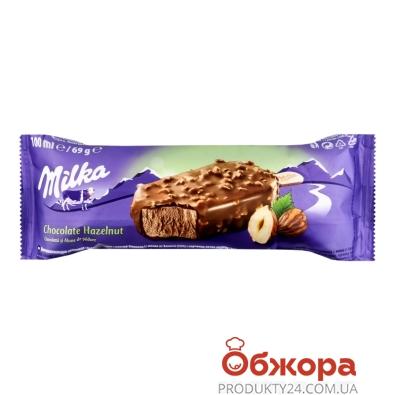 Морозиво Шоколадне з крихтами лісового горіху Ескімо Milka 69 г – ІМ «Обжора»
