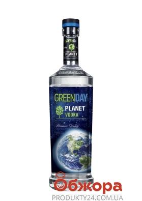 Горілка 40% Planet  Green Day 0,75 л – ІМ «Обжора»