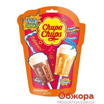 Льодяник-шипучка Fizzy Drink Chupa Chups 15 г*7 – ІМ «Обжора»
