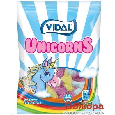 Жувальні цукерки  Unikorns без глютену Vidal 100 г – ІМ «Обжора»