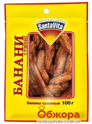Банани сушені Санта Віта Santa Vita 100 г – ІМ «Обжора»