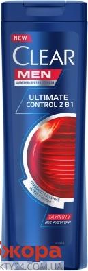 Шампунь проти лупи Ultimate control 2в1 Clear Men 400 мл – ІМ «Обжора»