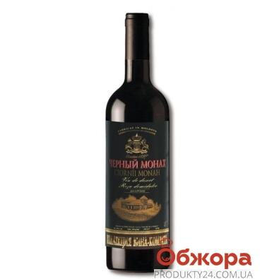 Вино Комрат (Comrat) ординарное Черный монах 0.75 л. полусладкое красное – ИМ «Обжора»