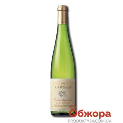 Вино Филип Дрешлер (Philippe Dreschler) Гевюртцтраминер 0,75 л – ИМ «Обжора»