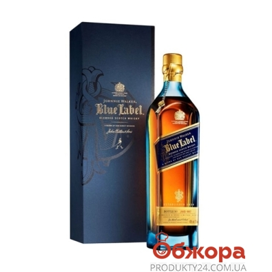 Виски Джонни Уокер (Johnnie Walker) блю 0.75л 25 лет – ИМ «Обжора»