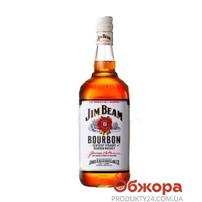 Виски Джим Бим (Jim Beam) 1 л. – ИМ «Обжора»