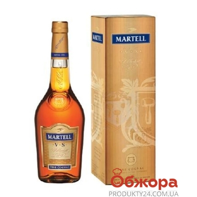 Коньяк Мартель (Martell) V.S.  40%* 0.7л – ИМ «Обжора»