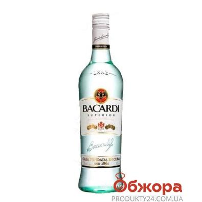 Ром Bacardi Carta Blanca 1 л – ІМ «Обжора»