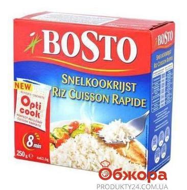 Рис Босто (Bosto) быстрого приготовления 250г – ИМ «Обжора»