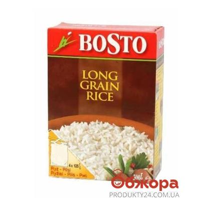 Рис Босто (Bosto) долгозернистый 500 г – ИМ «Обжора»