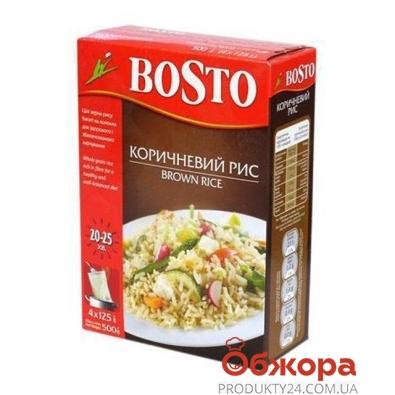 Рис Босто коричневый 500 гр. – ИМ «Обжора»