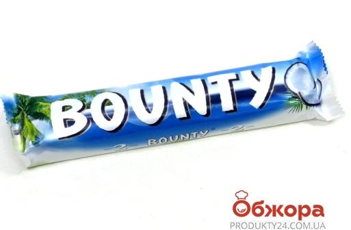 Шоколад Баунти (Bounty) молочный 57 г – ИМ «Обжора»