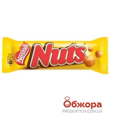 Шоколад батончик Нестле (Nestle)  Натс 50 г – ИМ «Обжора»