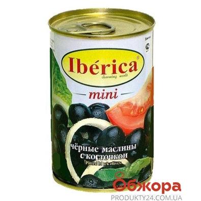 Маслины Иберика (Iberica) мини с косточкой 300 г – ИМ «Обжора»