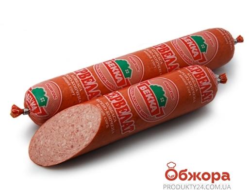Колбаса Векка Сервелат п/к – ИМ «Обжора»