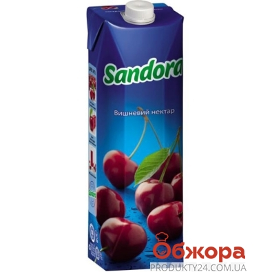 Сок Сандора (Sandora) вишня 1 л – ИМ «Обжора»