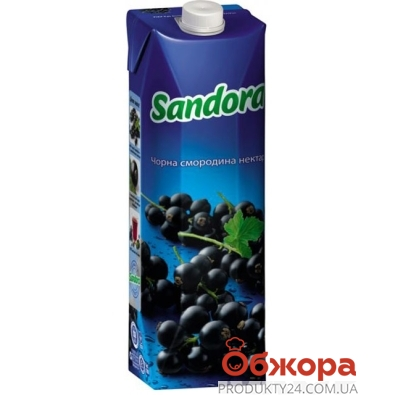 Сок Сандора (Sandora) черная смородина 1 л – ИМ «Обжора»