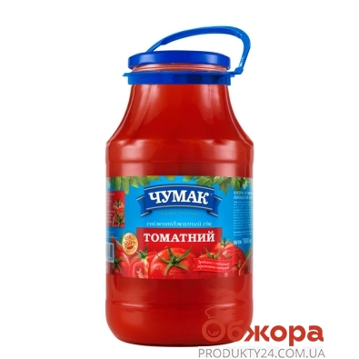 Сік Чумак 1,8л томат – ІМ «Обжора»
