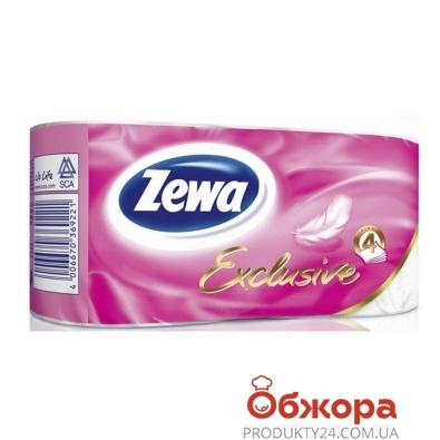 Туалетная бумага Зева (ZEWA) Exclusive 2 шт – ИМ «Обжора»