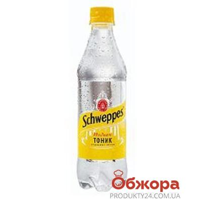 Вода Швепс (Schweppes) Индиан-тоник(Украина) 0,5 л – ИМ «Обжора»