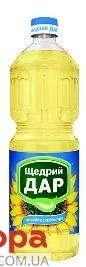 Подсолнечное  масло Щедрый дар рафинированное 1 л – ИМ «Обжора»