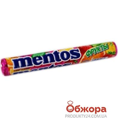 Конфеты Ментос 38г фруктовый – ИМ «Обжора»