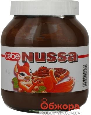 Крем Нусса (Nussa) орех 750 г – ИМ «Обжора»