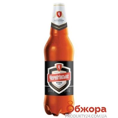 Пиво Черниговское 1.0 л. крепкое – ИМ «Обжора»