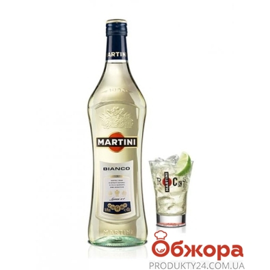 Вермут Мартини (Martini) Бьянко 1.0 л. 15% – ИМ «Обжора»