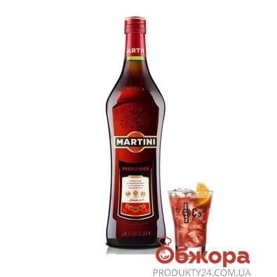 Вермут Мартини (Martini) Rosso 1 л – ИМ «Обжора»