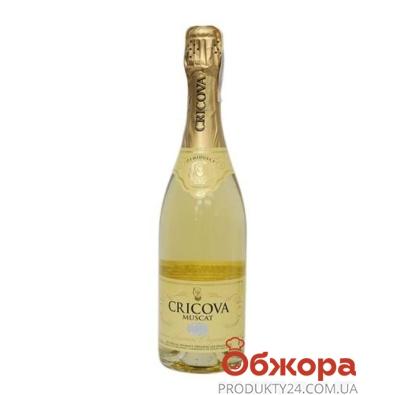 Шампанское Криково (Cricova) мускат п/сл 0,75 л – ИМ «Обжора»