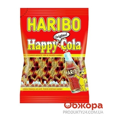 Мармелад Харибо (Haribo) Кола 100 г – ИМ «Обжора»