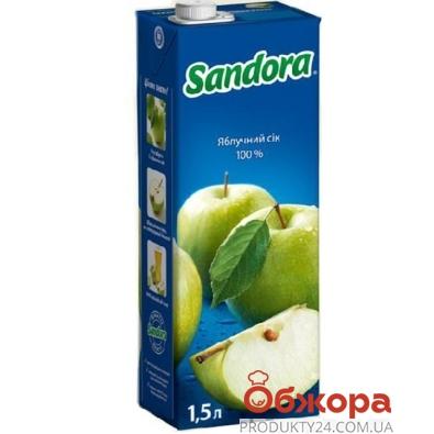 Сок Сандора (Sandora) зеленое яблоко 1,5 л – ИМ «Обжора»