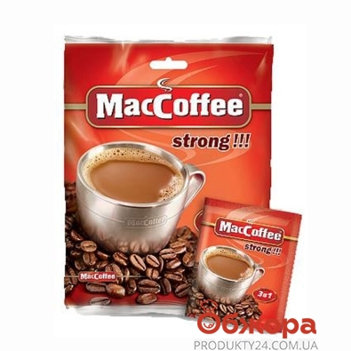 Кофе МакКофе стронг 20 г – ИМ «Обжора»