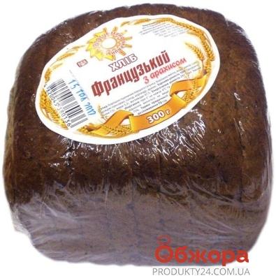 Хлеб Французский с арахисом Золотое зерно Украины 300 г – ИМ «Обжора»