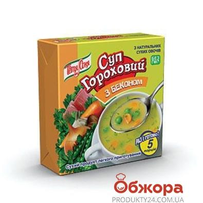 Суп Тетя Соня гороховый с беконом брикет 180 гр. – ИМ «Обжора»