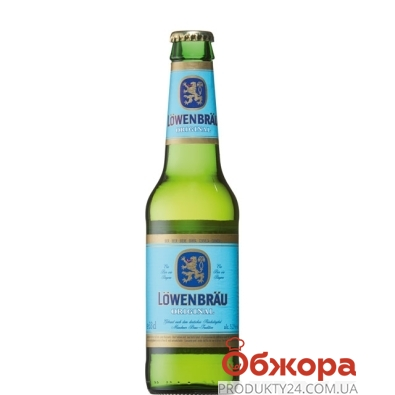 Пиво Ловенбрау (Lowenbrau) Original 0.33 л. – ИМ «Обжора»