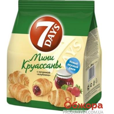 Круассан 7 Days (7 Дейз) клубника 200 г – ИМ «Обжора»