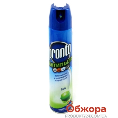 Полироль JON Пронто (PRONTO) Антипыль Лайм – ИМ «Обжора»