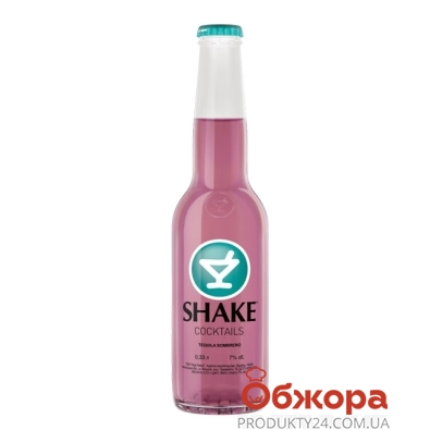 Напиток Шейк (Shake) Текила Сомбреро 7% 0,33 л – ИМ «Обжора»