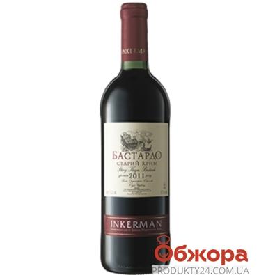 Вино Inkerman Бастардо 0,75л червоне сухе – ІМ «Обжора»