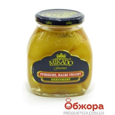 Персики Микадо половинки 425 гр. ст. – ИМ «Обжора»